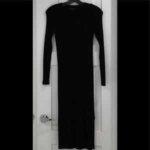 BANANA REPUBLIC Ribbed Knit Sweater Dress
